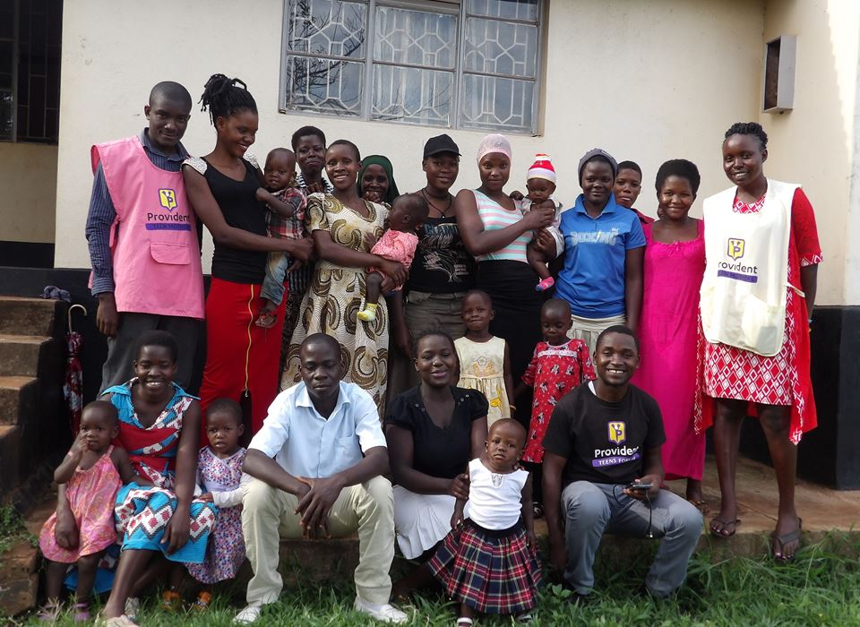 Provident Teen Mothers Uganda, group Photo teen Mothers Uganda
