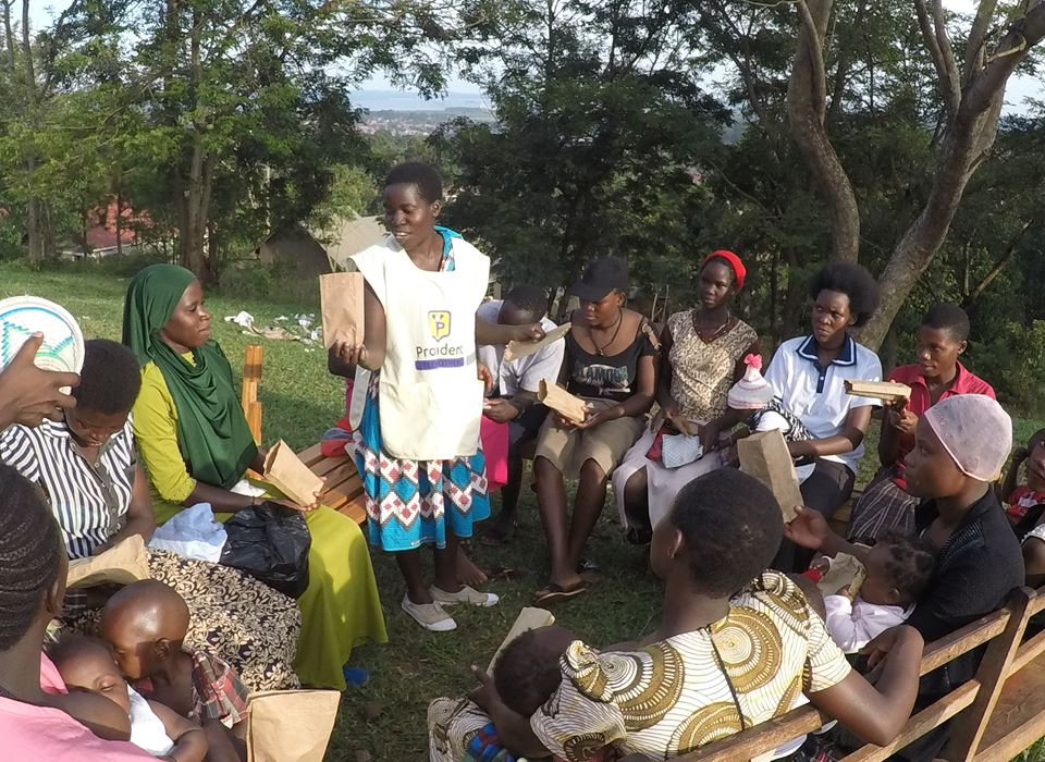 Senior Teen Mothers, Provident Teen Mothers, Teen Mothers In Uganda, Support Teen Mothers