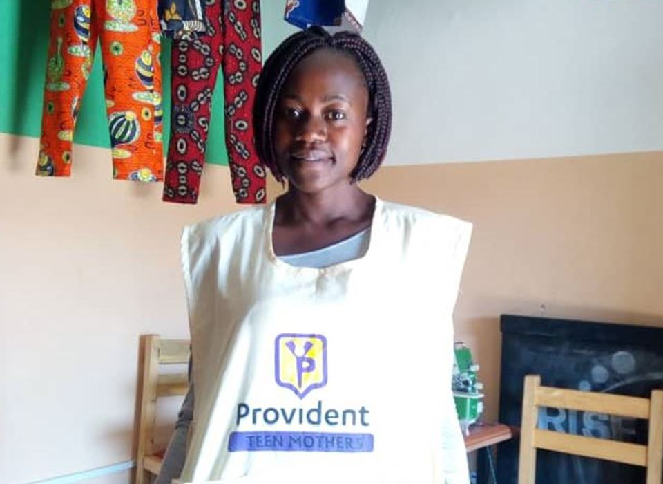 senior mother, jannette kahindo, provident teen mother uganda