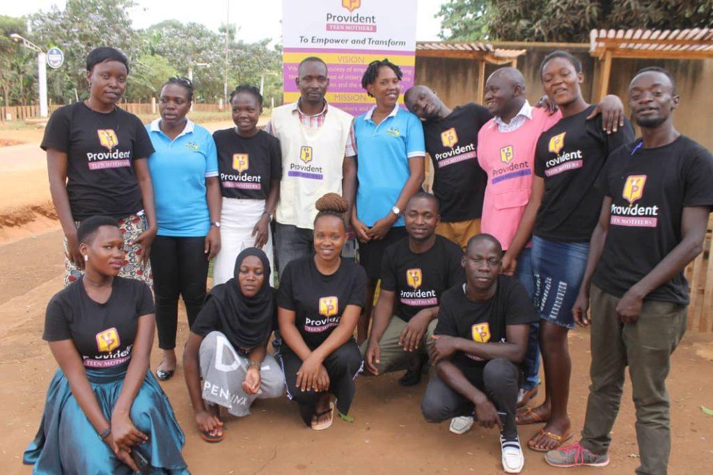 Provident teen mothers - Youth Alive Uganda